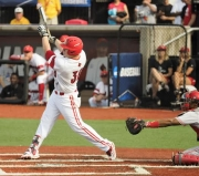 Brendan McKay clobbers one in the first inning.