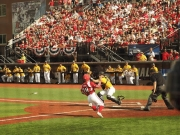 Logan Taylor getting around bases