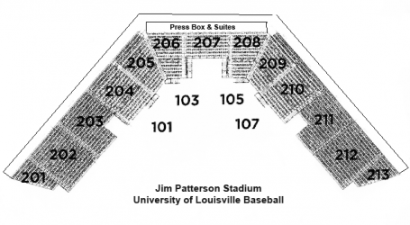 Baseball-Seating