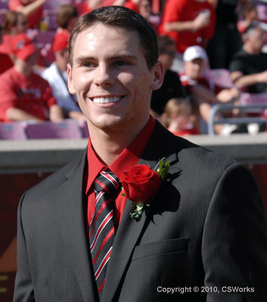 Kyle Kuric, University of Louisville homecoming king