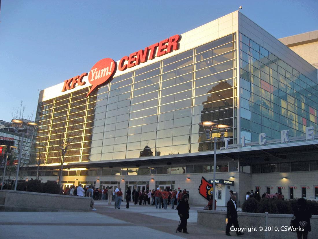 KFC Yum! Center Sports Arena | Cleveland Construction, Inc. |Kfc Yum Arena