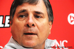Tom Jurich doesn't want to end the football series.
