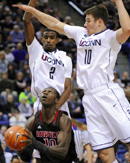 Russ Smith thriving on chaos