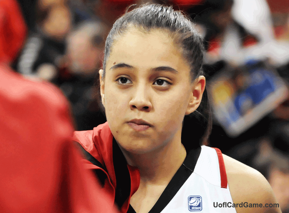 Shoni watches from the bench as Lady Cards nip Villanova