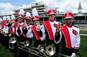 The University of Louisville marching band will play the traditional version of My Old Kentucky Home once again at the 139th Kentucky Derby.