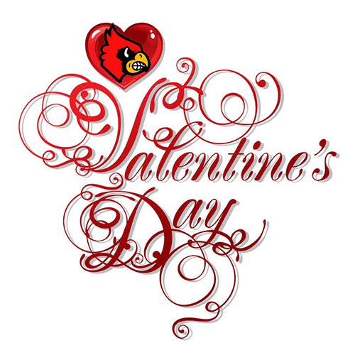Louisville basketball and valentines | |