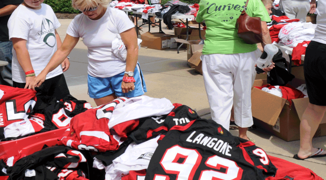 Choosing from all the UofL gear can be daunting