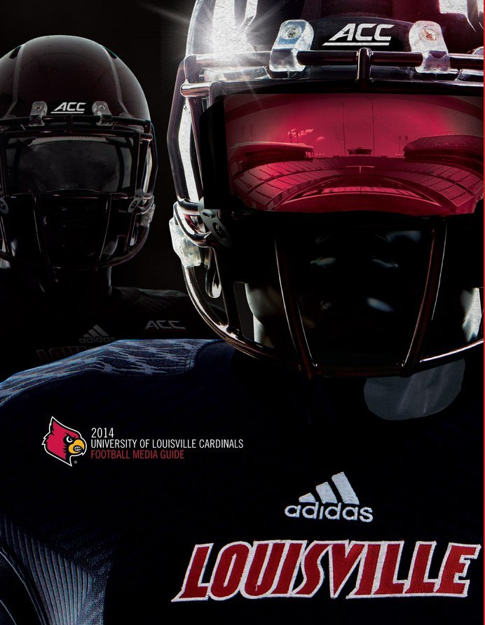 Black look is back, UofL football releases media guide