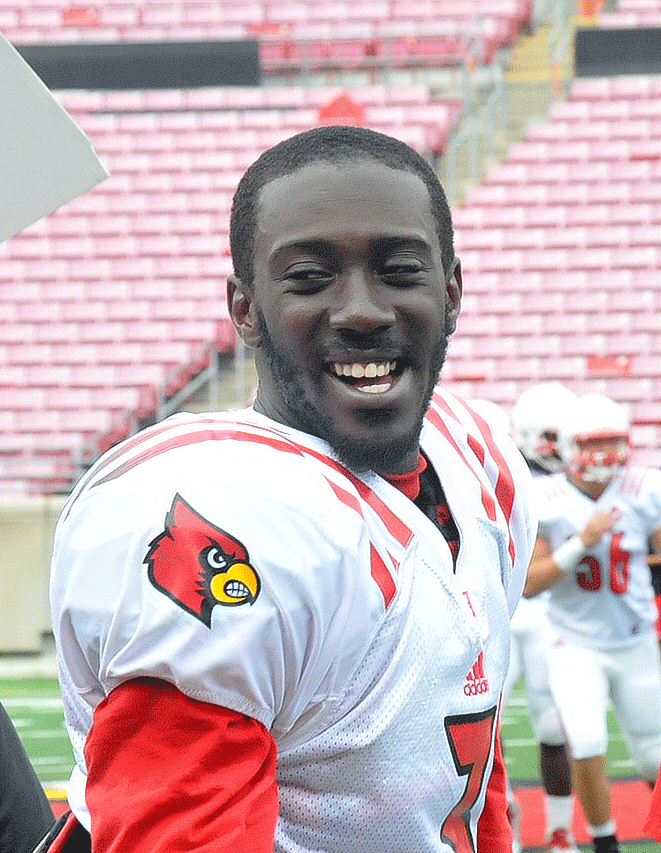 UofL's Charles Gaines always up — on or off the field