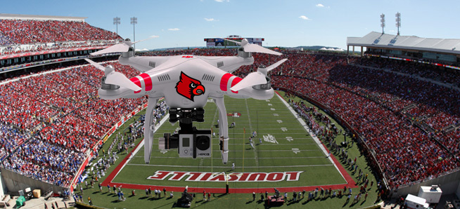 drone over pjcs