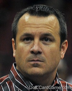 Jeff Walz without answers.