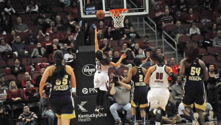 No more of an enduring sight for UofL fans than Jude Schimmel on a breakaway layup.