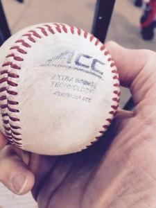 Baseball gods send an omen to the observer