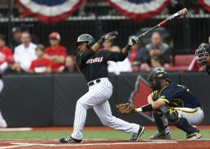 Devin Hairston earns outstanding player award in Louisville Regional. (UofL photo)