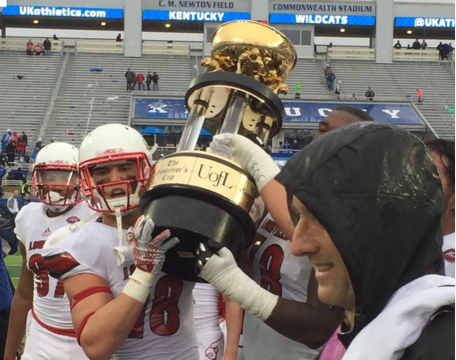 The Governor's Cup belong to UofL for fifth year in a row.