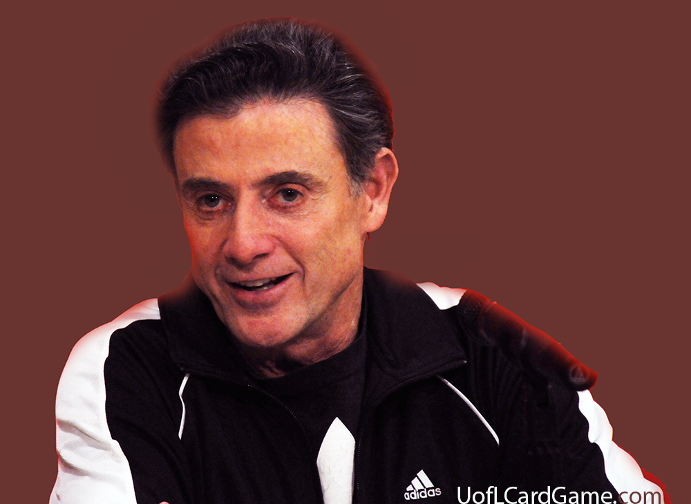Las Vegas not in cards for Rick Pitino