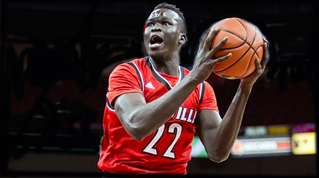 Deng Adel answers bell, Louisville downs Pitt again