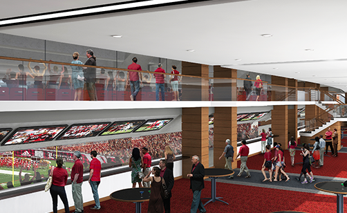 The Pepsi Club will provide still another great fan gathering place.