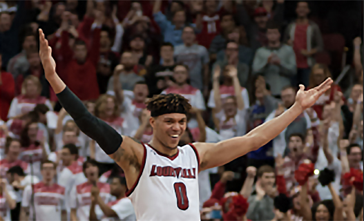Prime time for Damion Lee, Louisville nails North Carolina