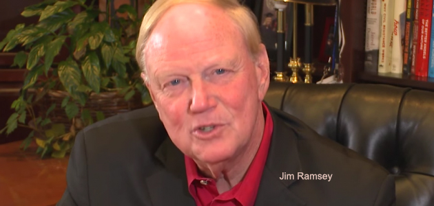 Attack on Jim Ramsey sinks to new low