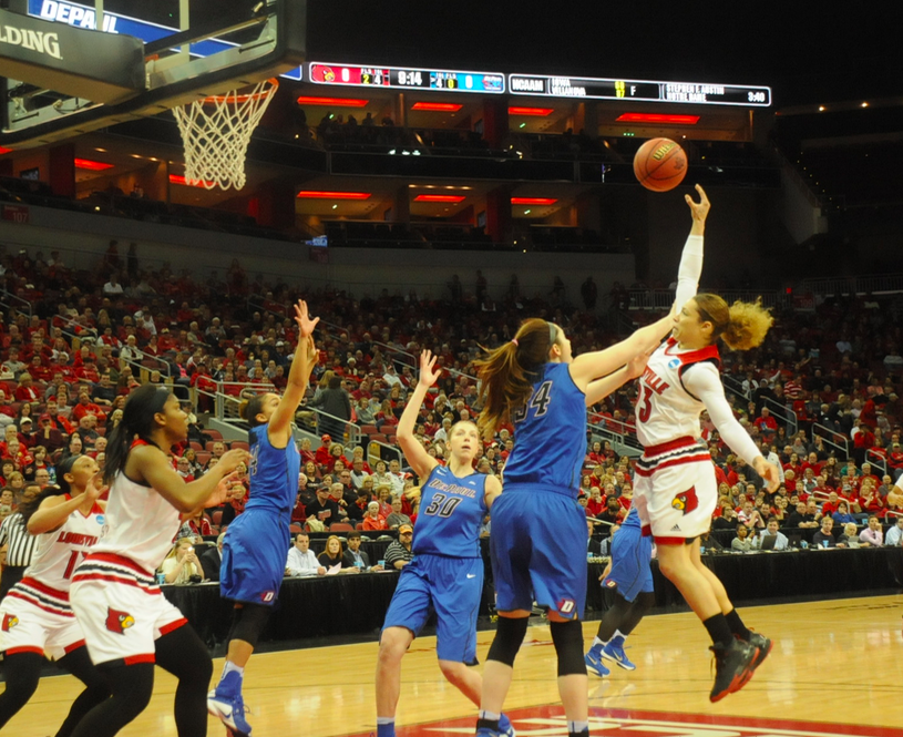 Briahanna at her best, but DePaul prevails over Louisville