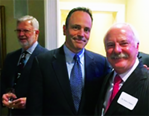 Governor Matt Bevin poses with Trustee Bob Hughes at a recent event. That's Trustee Bruce Henderson behind the Governor.