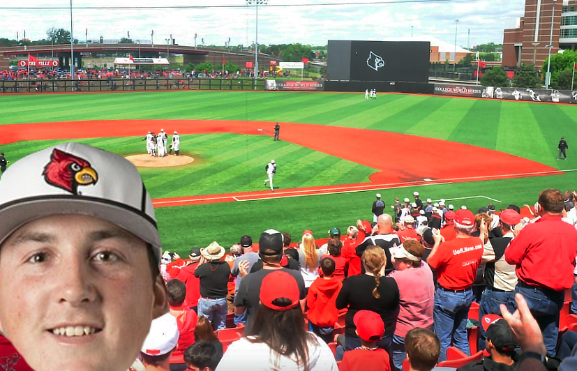 Funkhouser back on top on Senior Day for Louisville baseball