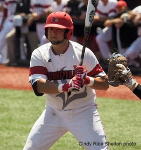 Blake Tiberi not ready to end UofL baseball season just yet.