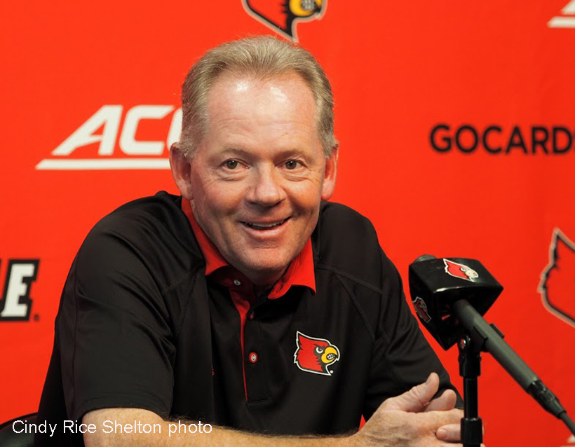 Time-lapse replay of another Louisville football milestone