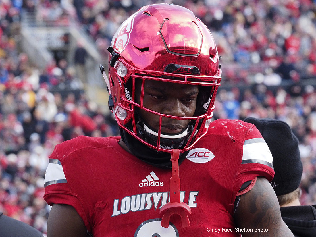 Jackson fumble leads to another Louisville stumble