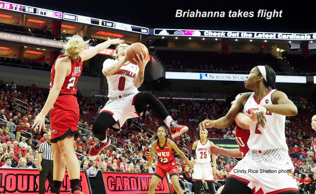 Briahanna Jackson not slowing down anytime soon