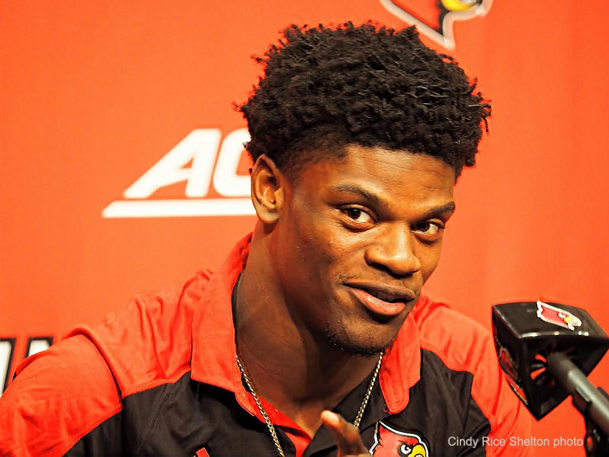 Lamar Jackson's greatness differs from another Louisville legend