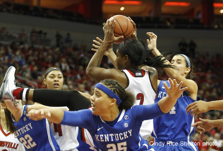 Louisville women stop the bleeding … and the Wildcats