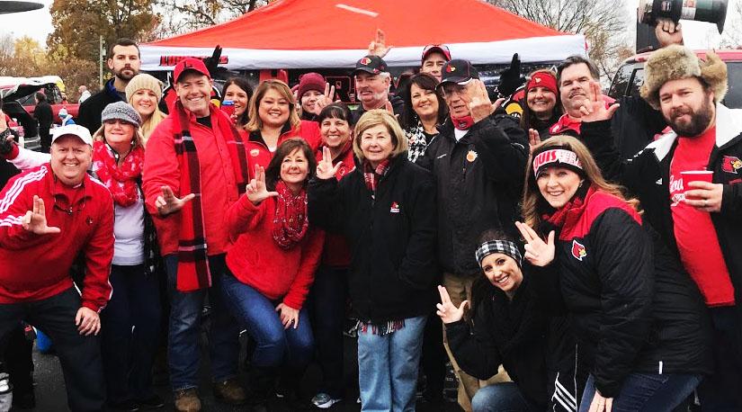 Happy holidays to the Harry's Hangout tailgating crew