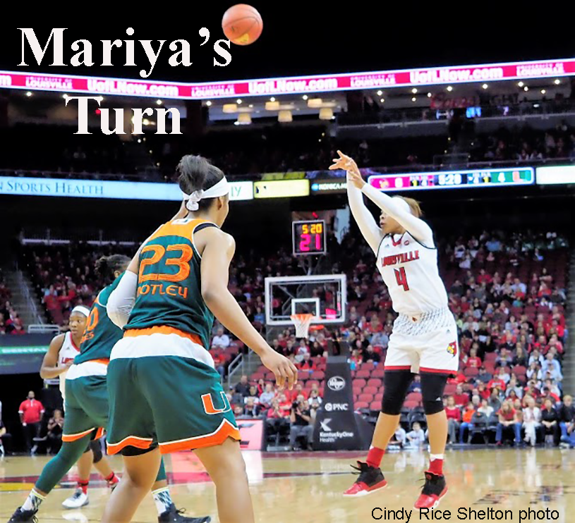 Mariya Moore's turn to shine, Louisville women edge Miami