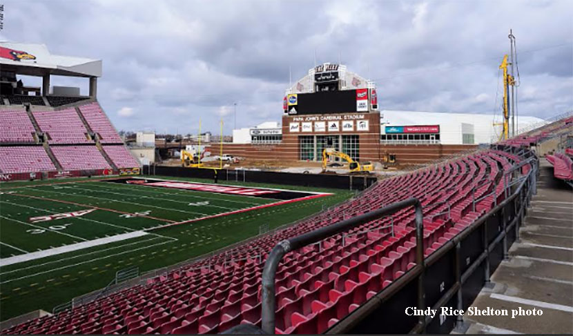 Update: Papa John's Cardinal Stadium expansion