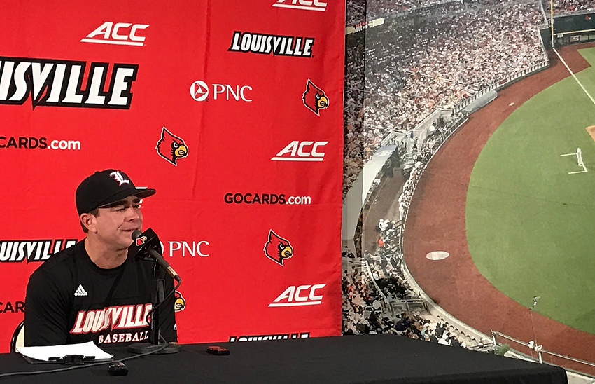 Louisville baseball on the road again to Omaha