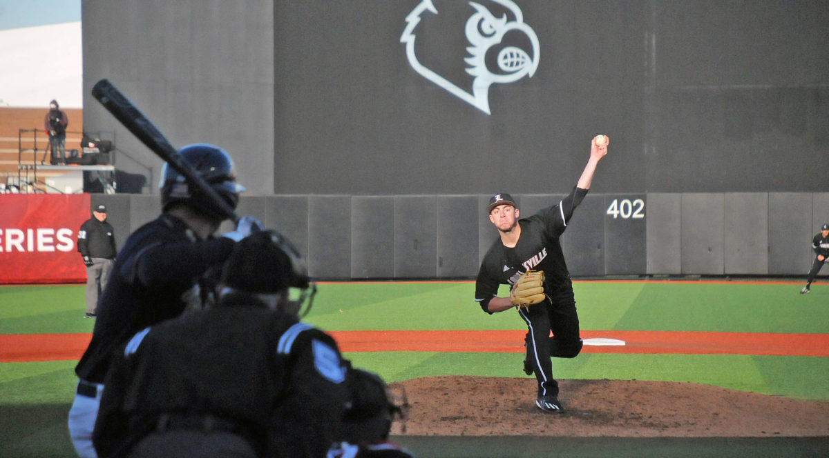 McKay with 15 strikeouts, Louisville blanks Pitt 3-0 in conference opener