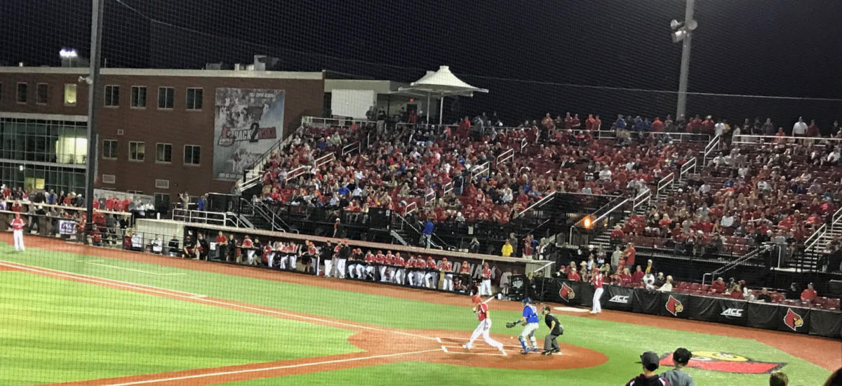 Record 6,210, Louisville baseball gets sixth straight over UK