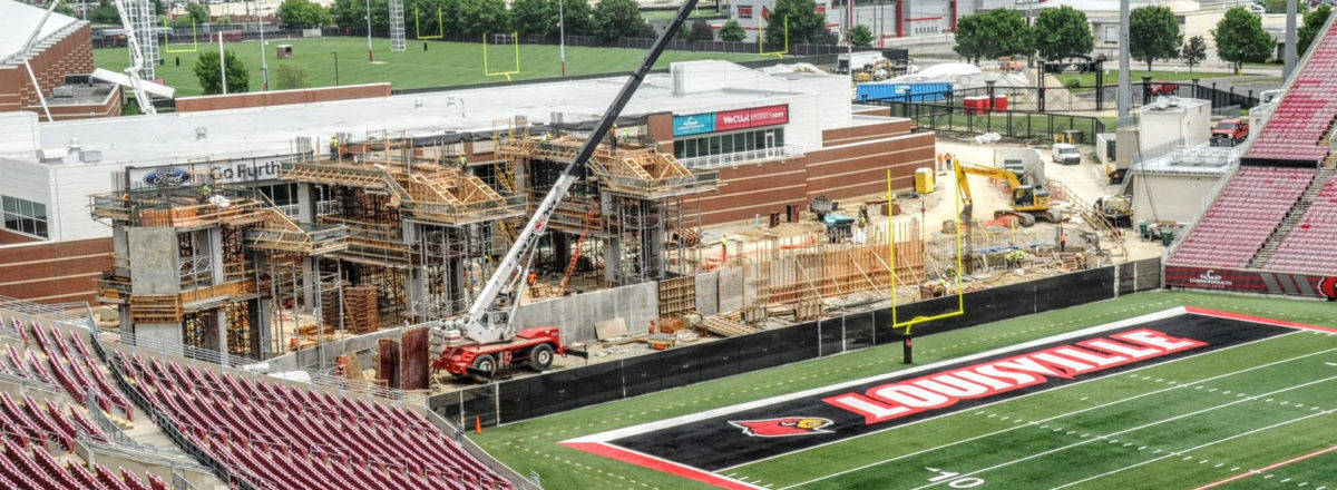 Completion of Cardinal Stadium in 2018 will be loud, symbolic