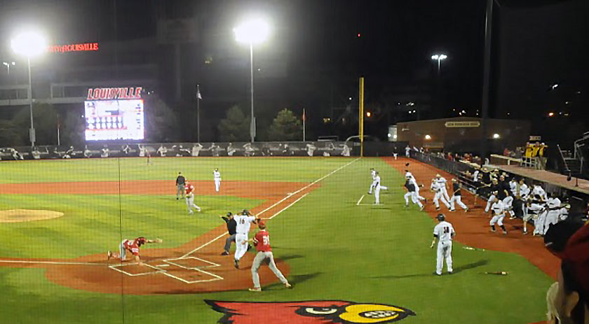 Bright lights time, Devin Hairston comes through again for UofL