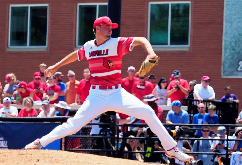 Cards top Cats, 5-2, in super regional opener