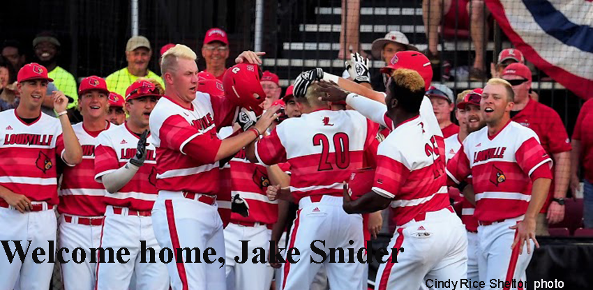 Jake Snider's first homer powers Louisville past Radford