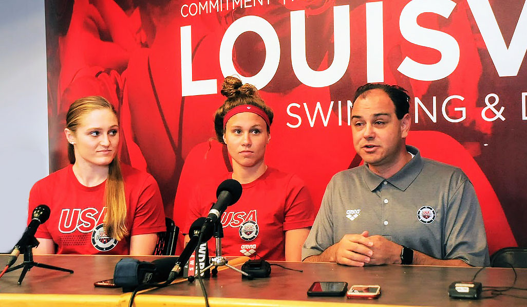 UofL swimmers competing with world's best these days