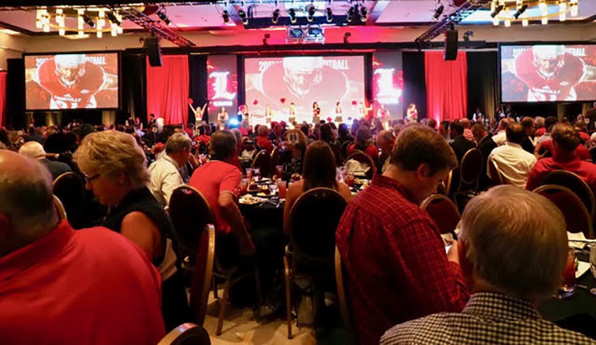 Focus on getting back on track at UofL kickoff luncheon