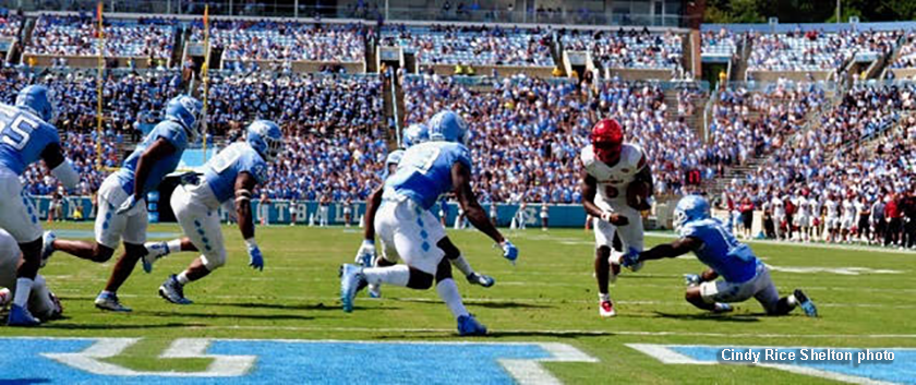 Lamar Jackson, 6 times 6, Louisville downs North Carolina