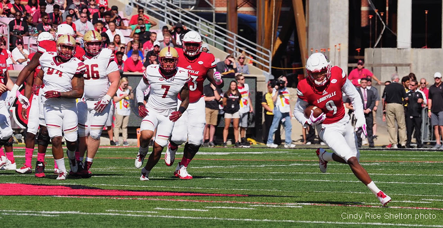 No stopping Boston College for UofL's leaky defense