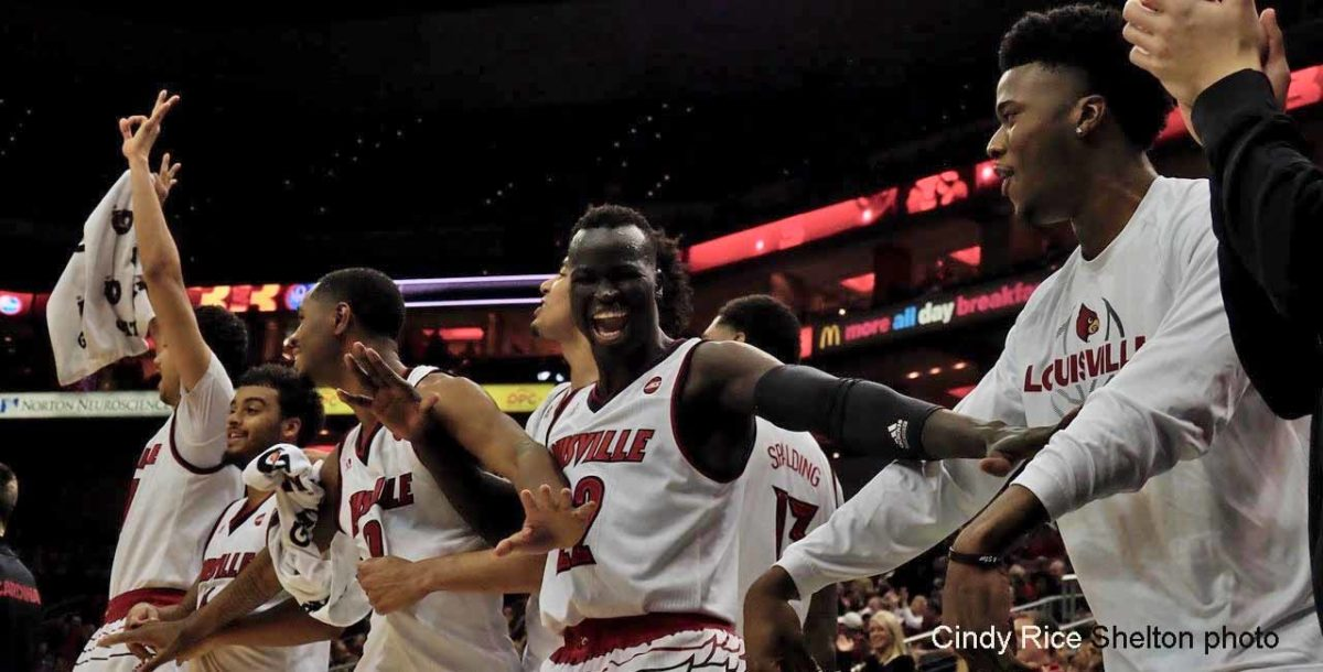 Nwora ignites Louisville in romp over Southern Illinois