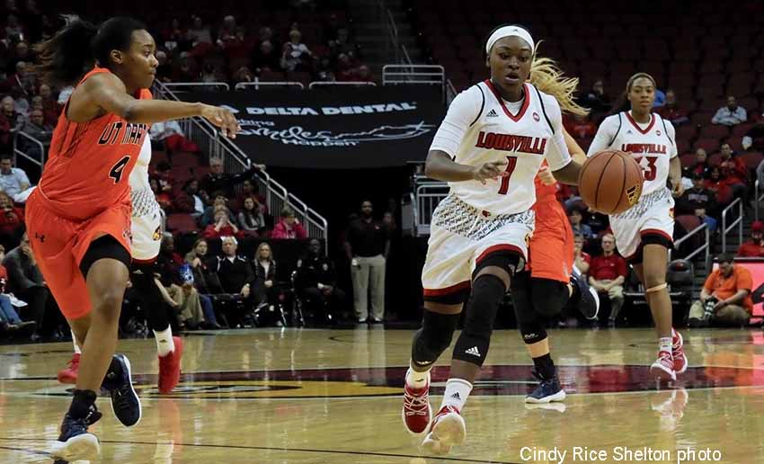 Another cakewalk for Louisville women