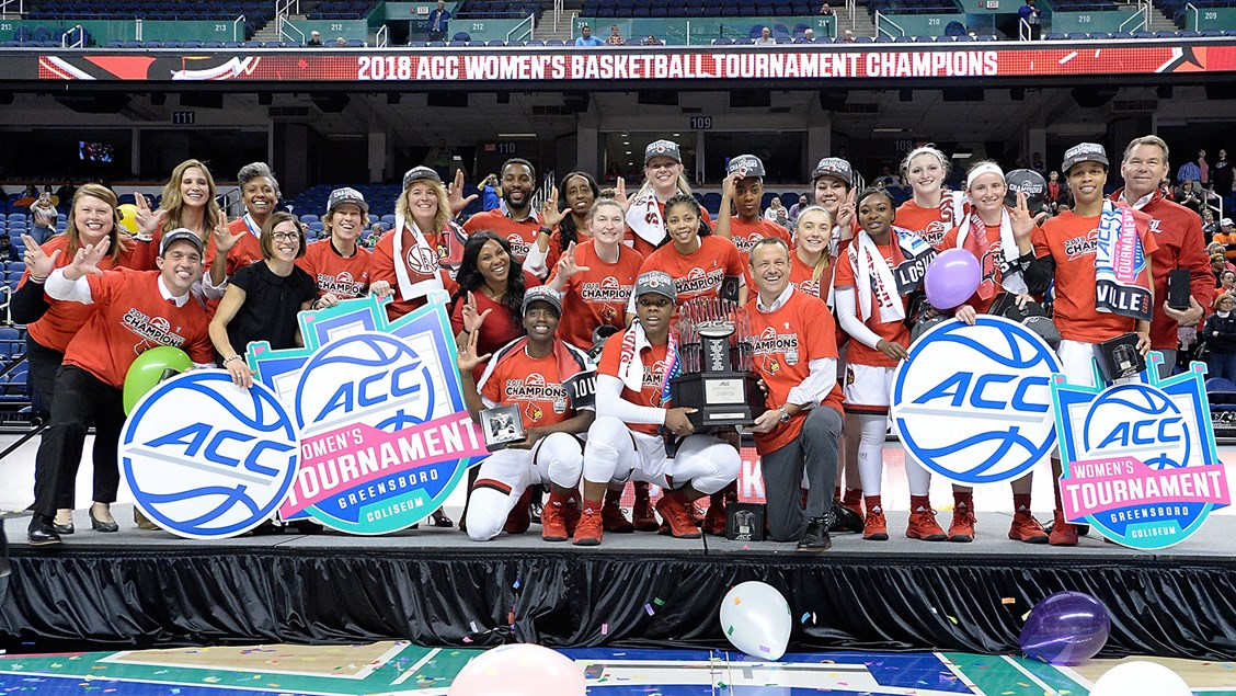 Time is now, Louisville women cut ACC tournament threads